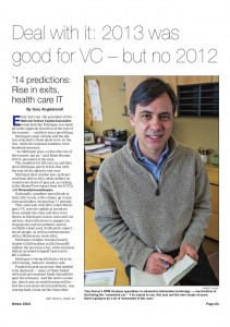 Deal with it -- 2013 was good for VC, but no 2012