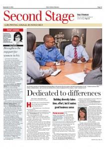 Crain's Sept. 8, 2014 -- Second Stage -- Diversity