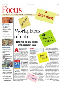 Nov. 17, 2014 -- Cool Places to Work