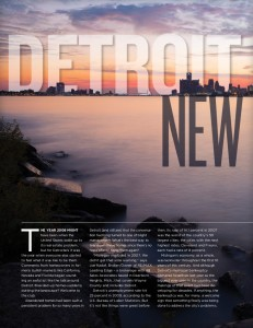 ReMax Magazine -- Fall 2014 Feature on Detroit Real Estate Market