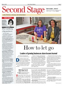 Cover March 9, 2015 -- Second Stage --Hiring Managers for First Time