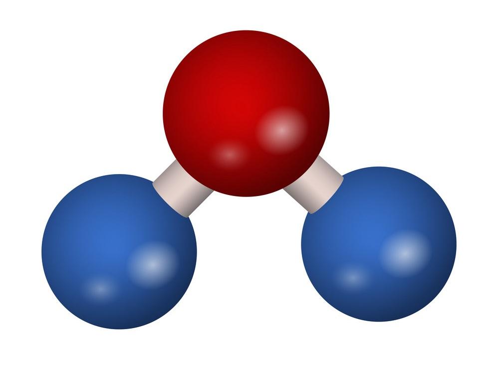 Carbon dioxide molecule Courtesy of Royalty Free Vectors by Meggi - Vectorstock 21149685